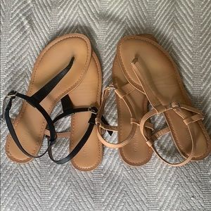 Old Navy Sandals (2 pairs)